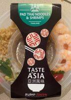Pad Thaï Noodles & Shrimps - Produit - fr