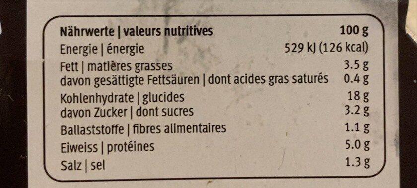 Pad Thaï Noodles & Shrimps - Informations nutritionnelles - fr