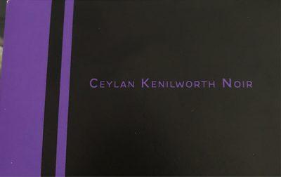 Ceylan kenilworth Noir - Product - fr