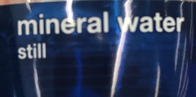 Ok mineral water - Ingredients - fr