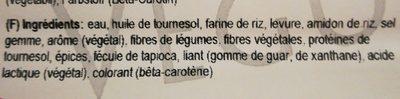 No-muh Rac, Vegusto - Ingredients