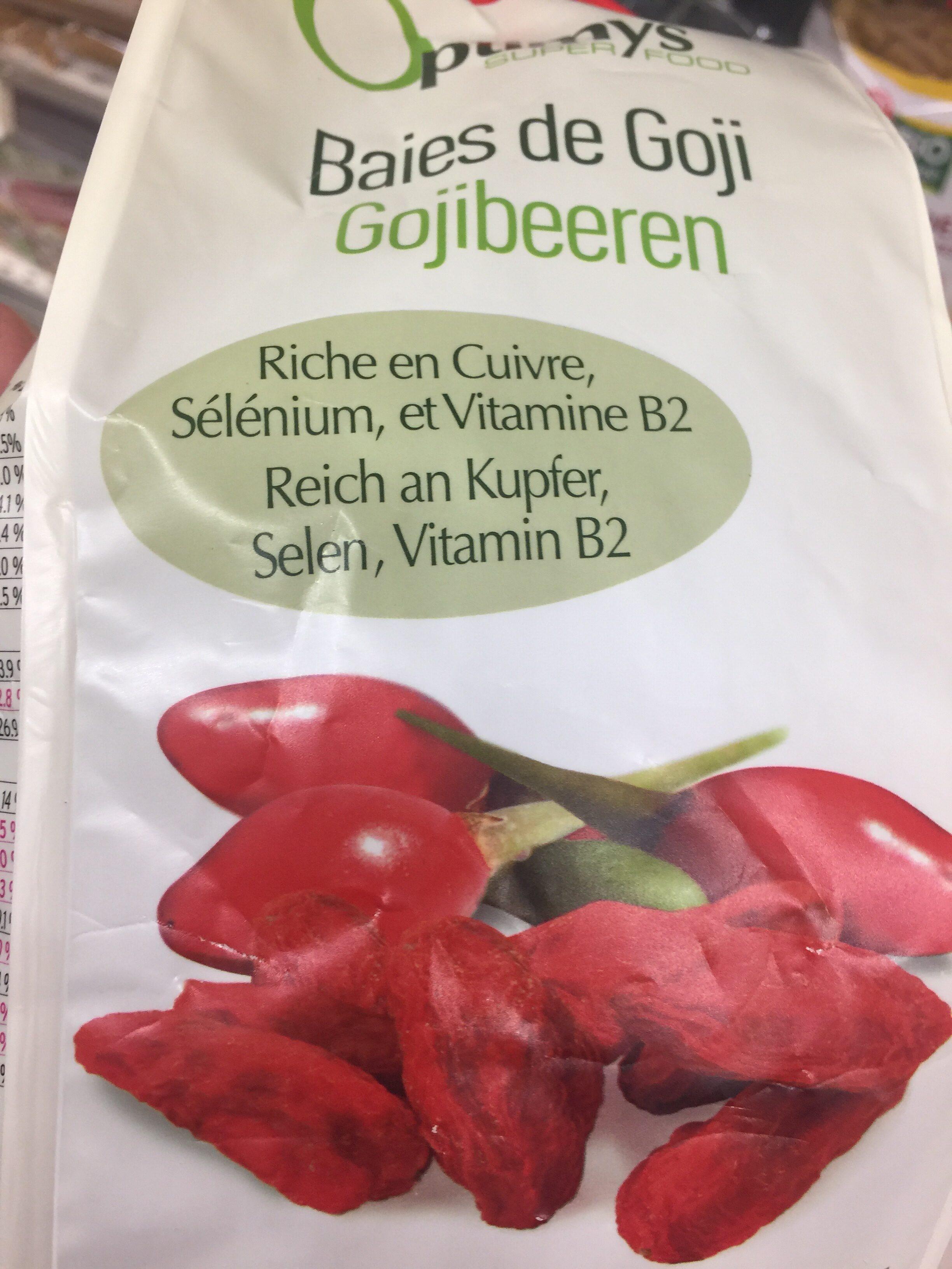 Optimys Goji Greenfood 500 g - Produkt - fr