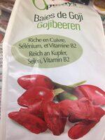 Optimys Goji Greenfood 500 g - Inhaltsstoffe - fr