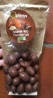 Amande BIO chocolat au lait - Produit