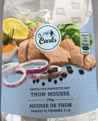 Parisette fourrée à la mousse de thon - Product