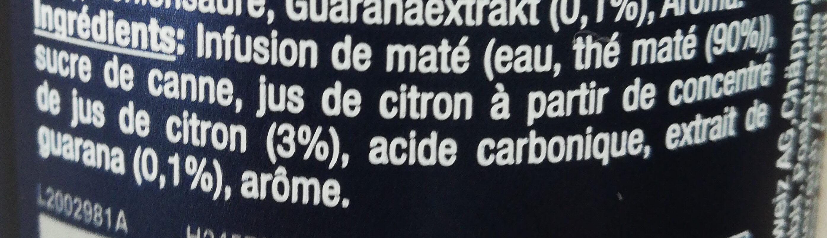 El tony - Ingredients