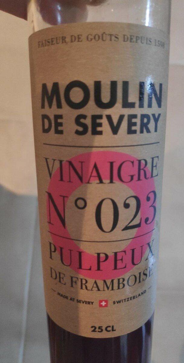 Vinaigre n°023 Pulpeux de framboises - Produit - fr