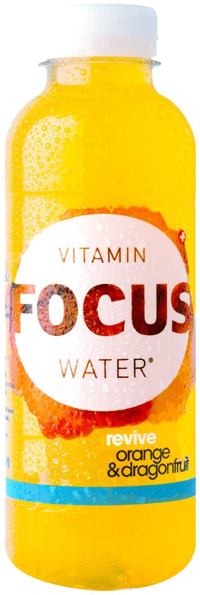 Focuswater Orange & Dragonfruit - Product