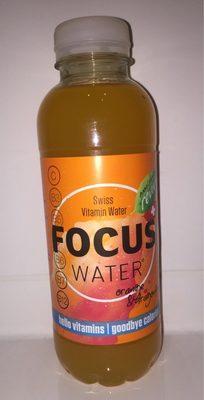 Focuswater Orange & Dragonfruit - Produit - fr