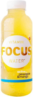 Focuswater Pineapple & Mango - Product