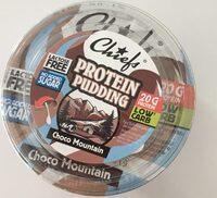 Protein Pudding Choco Mountain - Produit - fr