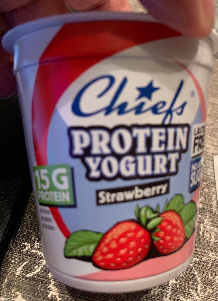 Protein yogurt strawberry - Product