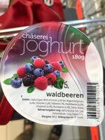 chäserei joghurt - Ingredienti - en