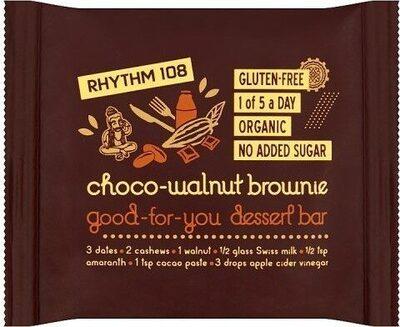 Good-for-You Dessert Bar Choco-Walnut Brownie - Prodotto - fr