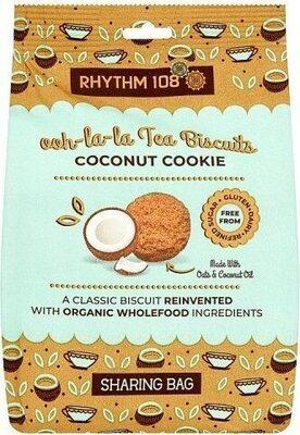 Ooh-la-la Tea Biscuits Coconut Cookie Sharing Bag - Product - fr