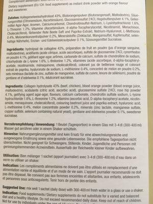 Extracellmatrix - Ingredients