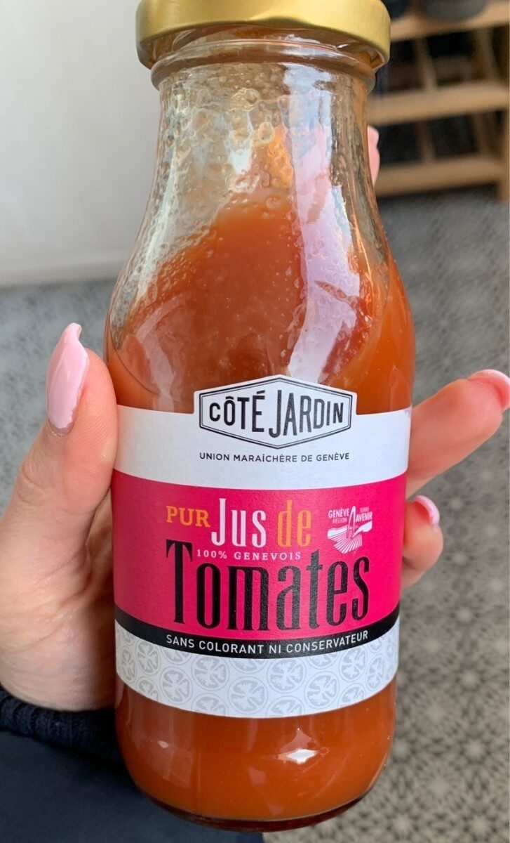 Pur jus de tomates 100% Genevois - Product - fr