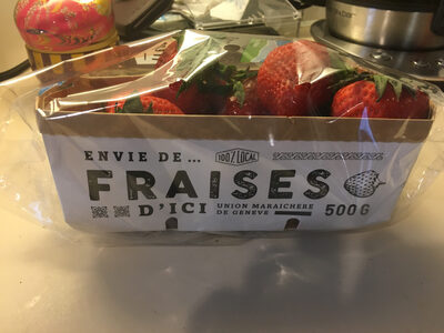 Fraises fresca Migros - Ingrediënten - fr