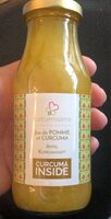 Jus de pomme et curcuma - Product - fr
