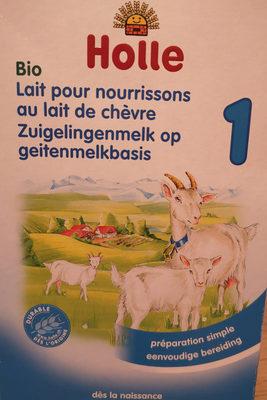 lait pour nourrissons au lait de chèvre - Product - fr