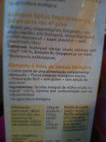 Papilla de mijo - Ingredienti - es