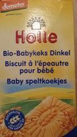 Babykeks Dinkel - Product - fr