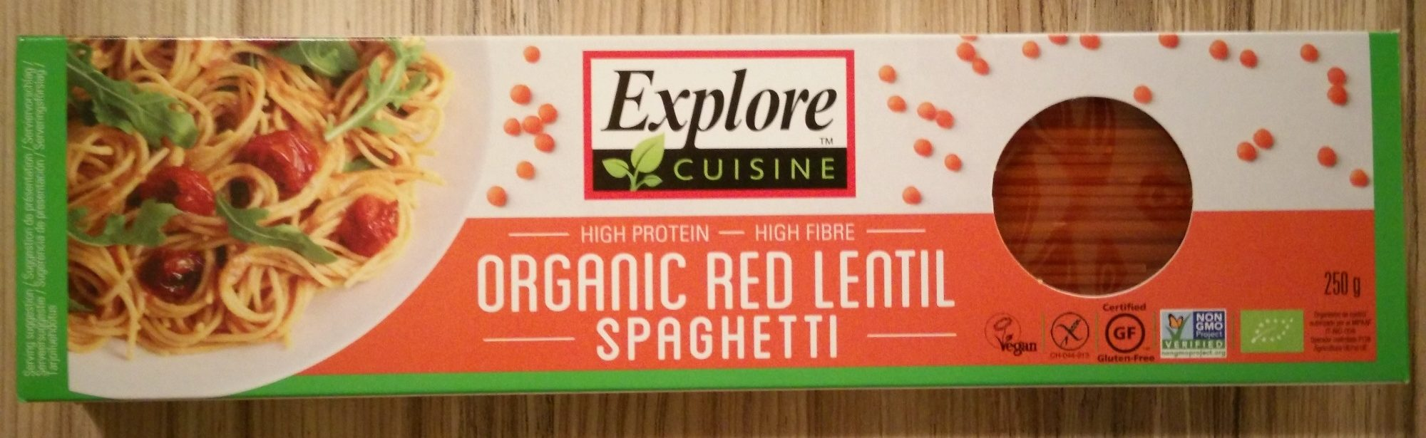 Organic Red Lentil Spaghetti - Product