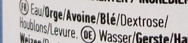 Fwt - Ingrédients