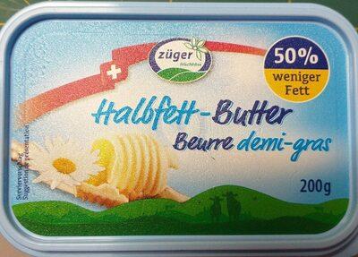 Beurre demi-gras - Product