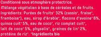 Superfood Mix Fruits Rouges - 100% naturel - Ingrédients - fr