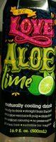 We love Aloe lime - Product - fr