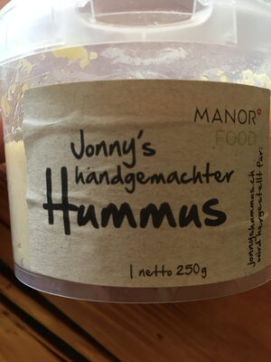 Jonny's handgemachter Hummus - Product