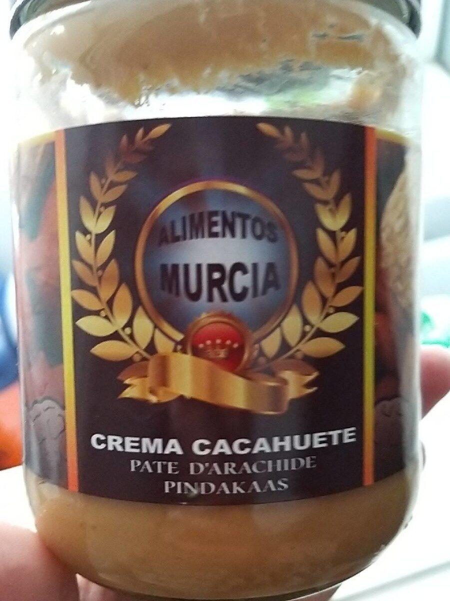Crema cacahuete - Producto - es