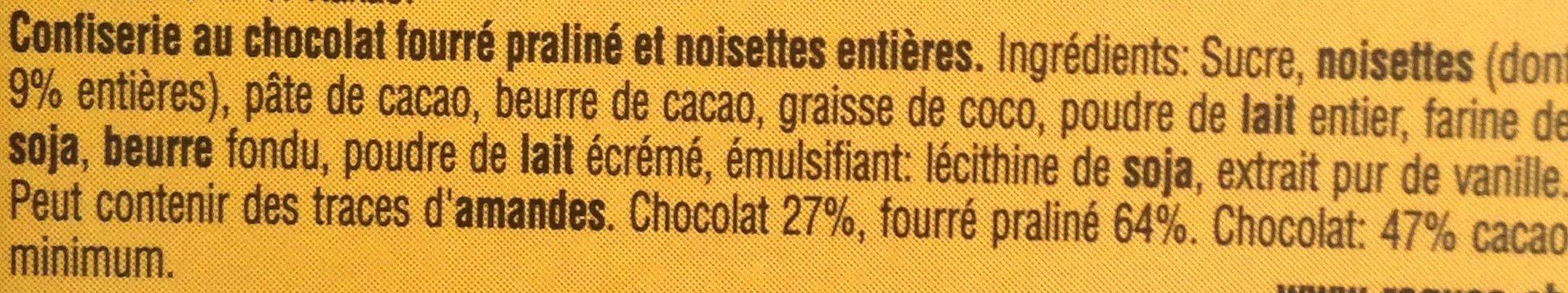 Ragusa Classique - Ingrediënten