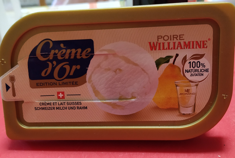 Poire Williamine crème glacée - Продукт - fr