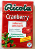 Bonbons Cranberry - Product