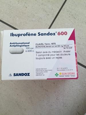 Ibuprofène 600 - Product