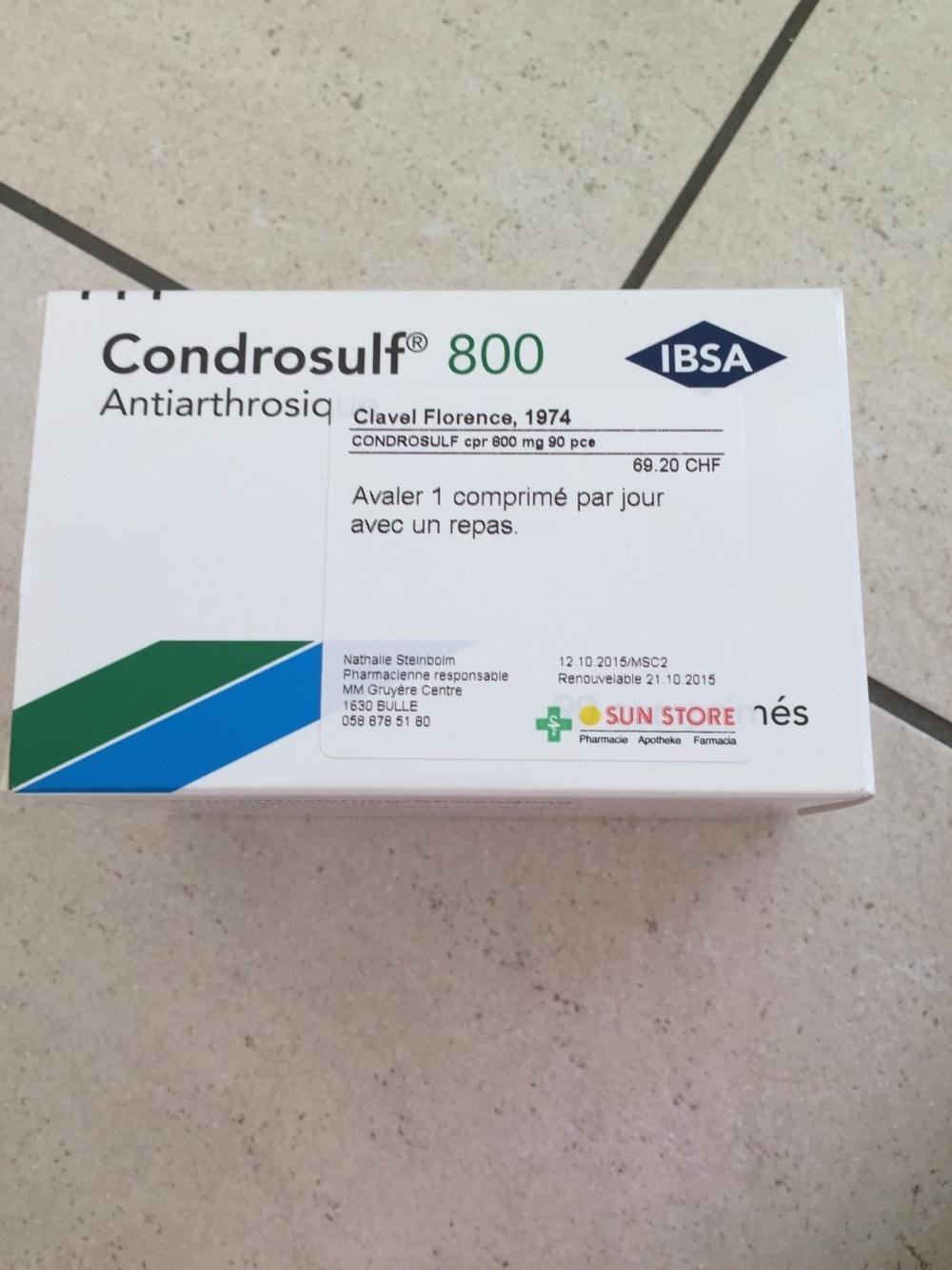 Condrosulf 800 - Product