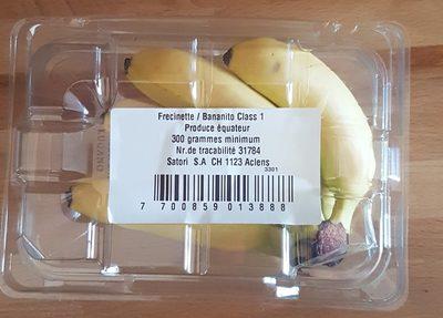Mini Bananes 300g - Ingrédients - fr