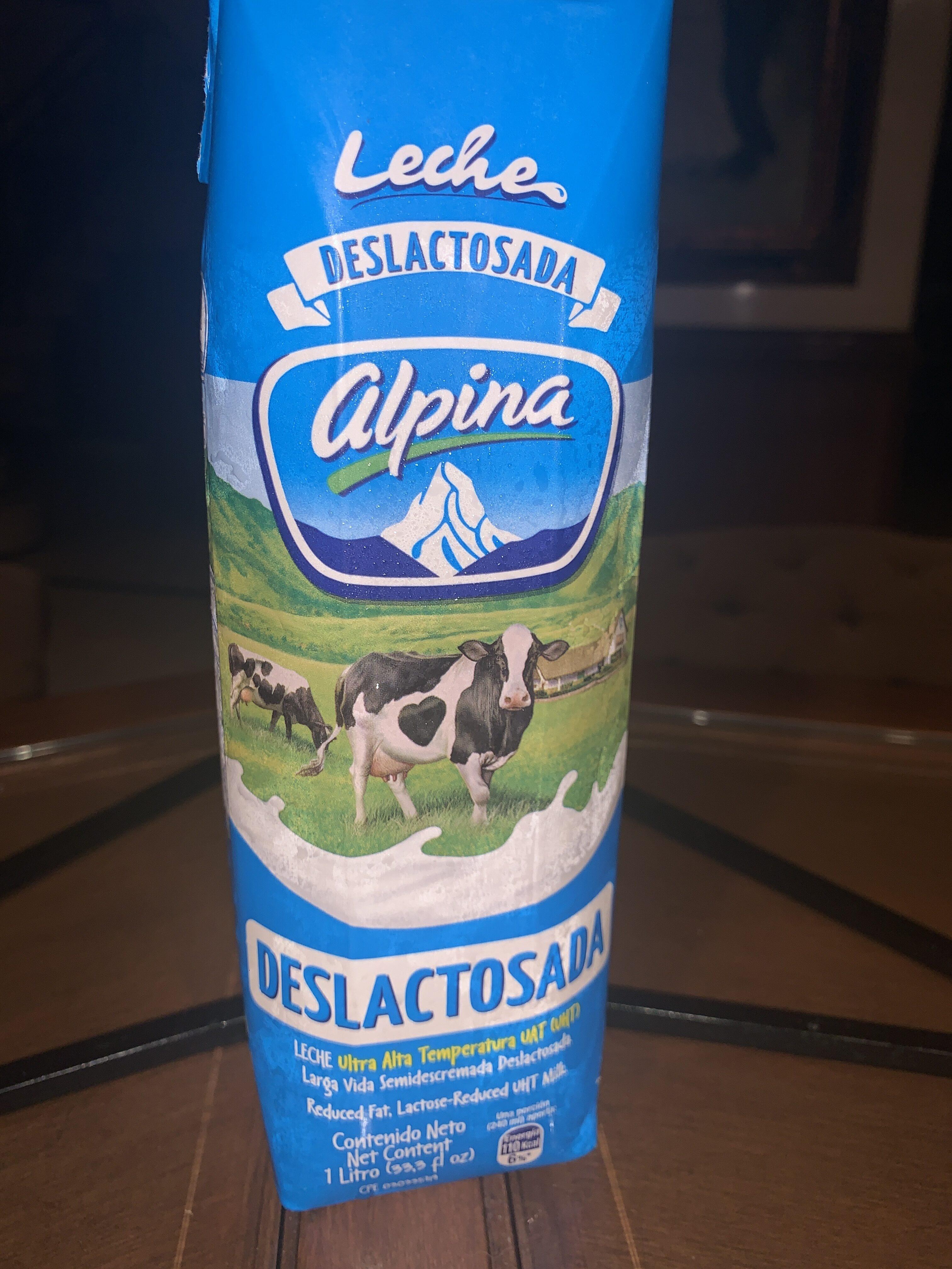 Leche alpina - Produit - es