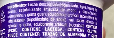 Finesse avena - Ingredients