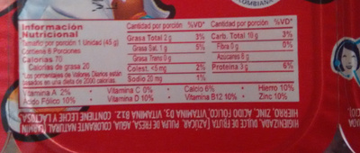 Alpinito - Nutrition facts