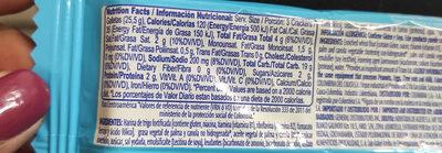 crakeñas club - Informations nutritionnelles - es