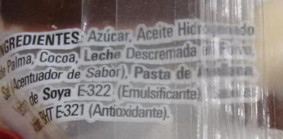 Nucita - Ingrédients - es