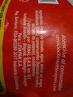salsa de tomate - Ingredients - es