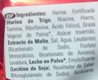 - Ingredients