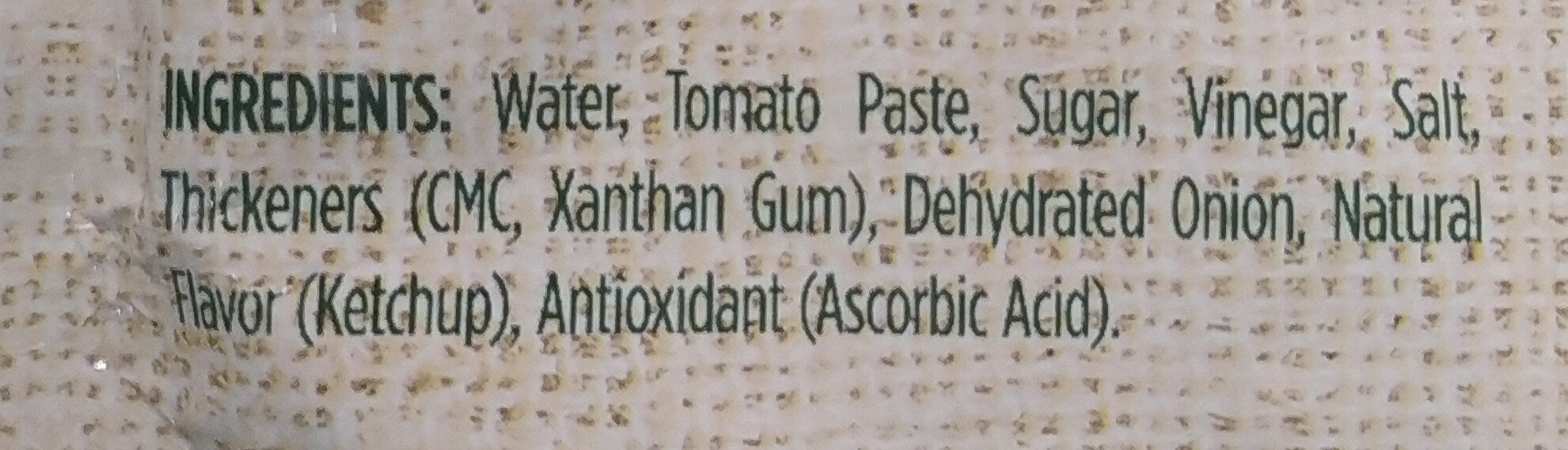 salsa de tomate la constancia - Ingredients - en