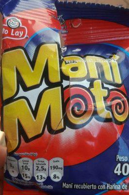 Maní Moto - Produit - fr