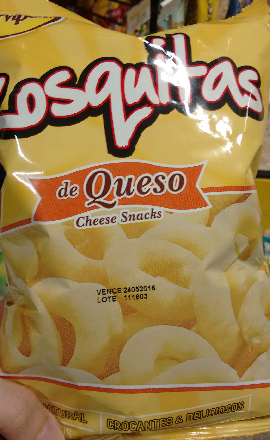 Rosquitas de Queso - Product