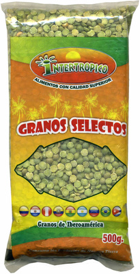 Guisantes secos verdes partidos - Producto